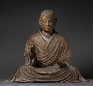 アメリカ ボストン美術館 僧形八幡神坐像 模刻制作