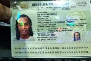 ロナウジーニョパスポート偽造なぜ